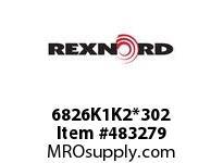 REXNORD 6179867 6826K1K2*302 ST K1&K2 EV2 P/P AYA