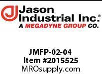Jason JMFP-02-04 60* BALL NPT MALE