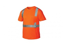 Pyramex RTS2120L Hi-Vis Orange T-Shirt - Size Large