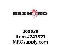 REXNORD 208039 29277 DPKU SR52 350 TD