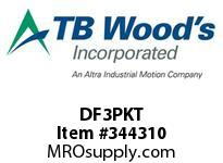 TBWOODS DF3PKT PACKET WE10