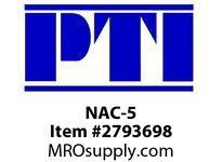 PTI NAC-5 FLEXIBLE BEAM COUPLING BE-BERVINA