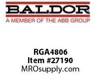 BALDOR RGA4806 RGA BRK RES ASSY 4800W 6.2 OHMS 1