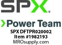 SPX DFTPR020002 TWL/LDF2 Right S/plate (Head 2)