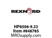 REXNORD HP8506-9.33 HP8506-9.33 HP8506 9.3 INCH WIDE MATTOP CHAIN W