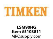 TIMKEN LSM90HG Split CRB Housed Unit Component