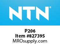 NTN P206 Bearing Units - Cast Housing