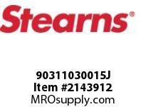 STEARNS 90311030015J TAPER BUSHING 1-7/16 BORE 8023056