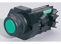 WEG CSW30H-BS2 H30MM ALUM PB EXTENDED GREEN Pushbuttons