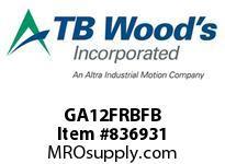 TBWOODS GA12FRBFB HUB GA12 B RIGID FB