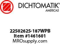 Dichtomatik 22502625-187WPB WIPER