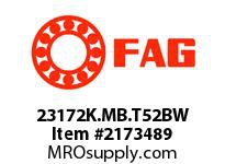 FAG 23172K.MB.T52BW DOUBLE ROW SPHERICAL ROLLER BEARING