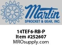 Martin Sprocket 14TEF6-RB-P USE 14TEF6-BB-P