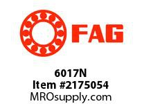 FAG 6017N RADIAL DEEP GROOVE BALL BEARINGS