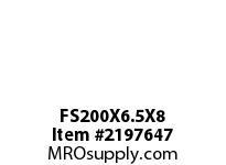 PTI FS200X6.5X8 FELT STRIP