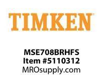 TIMKEN MSE708BRHFS Split CRB Housed Unit Assembly