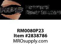 HPS RM0080P23 IREC 80A 0.230MH 60HZ CC Reactors