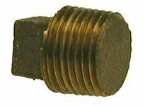 MRO 44672 3/8 BRONZE SQ HD SOLID PLUG