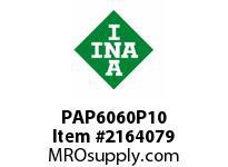 INA PAP6060P10 Plain bearing