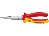 Kniplex 26 18 200 US 8 LONG NOSE PLIERS W/ CUTTER-1000V I