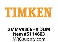 TIMKEN 2MMV9306HX DUM Ball High Speed Super Precision