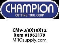 Champion CM9-3/8X10X12 SDS PLUS ROTARY HAMMER BITS