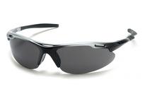 Pyramex SSB4520D Silver Black Frame/Gray Lens