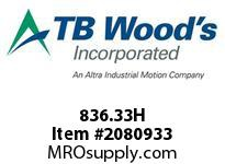 TBWOODS 836.33H OLDHAM DISC CATALOG STYLE 33