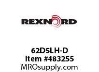 REXNORD 6100929 62D5LH-D CAST DET CHAIN