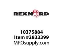 REXNORD 10375884 G-RAIL 247 ROUND GN SS T1.5MM L3 .05M