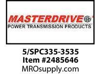 MasterDrive 5/SPC335-3535 5 GROOVE SPC SHEAVE