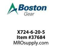 BOSTON 51186 X724-6-20-5 MOTORIZED WORM SHAFT