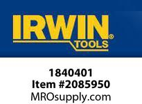 "IRWIN 1840401 GRABIT IMPACT NUTSET 3/8"" X 1-7/8"""