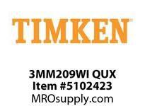 TIMKEN 3MM209WI QUX Ball P4S Super Precision