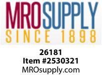 MRO 26181 1/4OD X 3/8MIP ADP W/26003