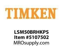 TIMKEN LSM50BRHKPS Split CRB Housed Unit Assembly