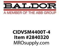 BALDOR CIDVSM4400T-4 100HP1785RPM3PH60HZ405TCTEFCF 1 :