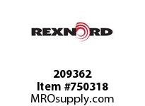REXNORD 209362 592725 425.S71-8.CPLG RB SD