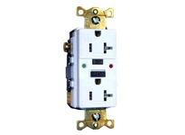 HBL-WDK GFTR20R 20A 125V COMM LED TAMPER-RES GFCI RD