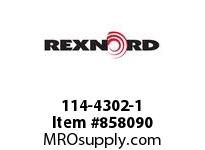 REXNORD 114-4302-1 SHAFT DRIVE 2.5SQX44.13IN