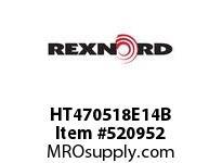 REXNORD HT470518E14B HT4705-18 E14-5/32D 152827