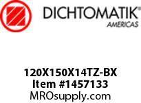 Dichtomatik 120X150X14TZ-BX DISCONTINUED