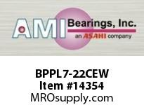AMI BPPL7-22CEW 1-3/8 NARROW SET SCREW WHITE PILLOW PILLOW BLK/O.C&C.C