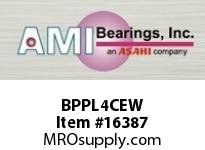 AMI BPPL4CEW 20MM NARROW SET SCREW WHITE PILLOW CLOSED COVER