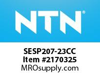 NTN SESP207-23CC Stainless-Mounted bearing unit