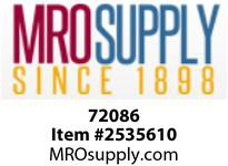 MRO 72086 3/4 X 4 SC80 BLACK SEAMLESS