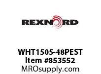 REXNORD WHT1505-48PEST WHT1505-48 PES ROD WHT1505 48 INCH WIDE MATTOP CHAIN W