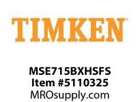 TIMKEN MSE715BXHSFS Split CRB Housed Unit Assembly