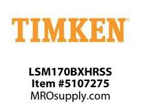 TIMKEN LSM170BXHRSS Split CRB Housed Unit Assembly