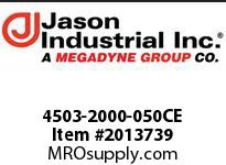 Jason 4503-2000-050CE 2 X 50 PVC BLUE WATER DISCH